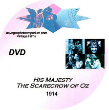 Vintage WIZARD OF OZ *1914* Silent Film * DVD * 1914*