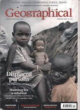 the geographical magazine-FEB 2009-DISPLACED PERSONS.