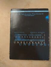 Unbreakable Vista Series M. Night Shamalan 2 Dvd - Bruce Willis - Samuel L. Jack