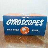 Twin Gyroscopes - Tedco Toys -Complete With Instructions