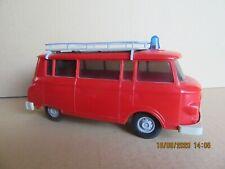 778N 1969'S Anker GDR DDR Jouet Ancien Plastique Barkas B 1000 Pompiers 1:25