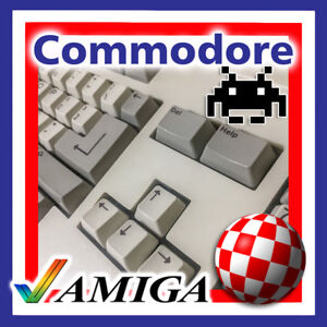 COMMODORE AMIGA 500, A500 Plus, A2000, A3000, A4000 MECHANICAL KEYBOARD KEY CAPS