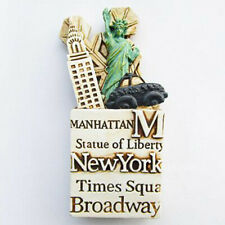 The Statue of Liberty New York 3D Resin Fridge Magnet Tourist Souvenir Gift New