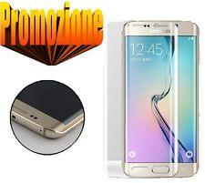 Pellicola in Vetro Temperato Proteggi Schermo Antigraffio Samsung Galaxy S6 Edge Plus Retro trasparente