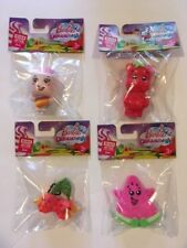 SET OF 4 BARBIE DREAMTOPIA PLASTIC FIURES