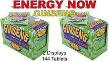 48 Ginseng Energy Now Ginseng 24 Packs X 2 Displays (48 Packs) 144 Tablets