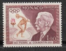 TIMBRE MONACO NEUF N° 635 ** JEUX OLYMPIQUES  BARON PIERRE DE COUBERTIN