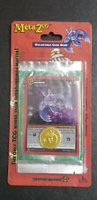 Metazoo Cryptid Nation 1st Edition Blister Pack With Mothman Card & Coin