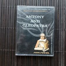 ANTONY AND CLEOPATRA  - WILLIAM SHAKESPEARE'S  - 2X AUDIOCASSETTE
