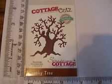 "COTTAGE CUTZ  HAUNTED SPOOKY TREE  HALLOWEEN DIE SILHOUETTE   2.5 "" H x 2 "" W"