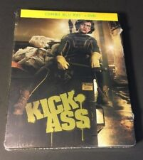 Kick-Ass [ Limited STEELBOOK Edition ] (Blu-ray DVD Combo) NEW