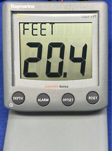 Raymarine ST60+ Depth Instrument Display A22010-P Raytheon Autohelm