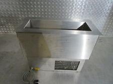 Gastro Edelstahl Kühlwanne Einbaukühlwanne + Wasserablauf + Kälteaggregat (548)