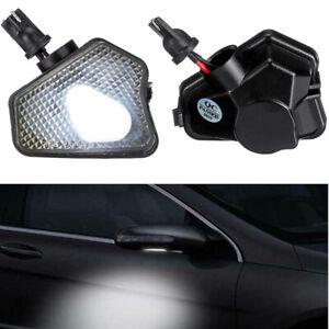 Error Free LED Under Mirror Puddle Light For Benz W117 W204 W212 W221 W218 W156