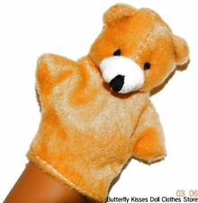 Bear Hand Puppet 18 in Doll Clothes Accessory For American Girl
