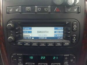 CHRYSLER GRAND VOYAGER CD PLAYER RADIO HEAD UNIT SAT, 2004 - 2008, breaking car