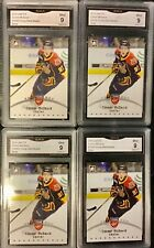 (4) 2014 ITG  Young Stars #21 SILVER Connor McDavid - Rookie  GMA 9 Mint ###/500