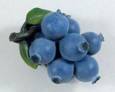 Blueberry Fruit 3D Fridge Magnet Memo Holder Resin Handmade Thai Craft Kitchen