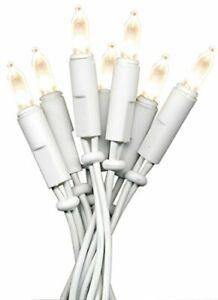 LED Weihnachtslichterkette Lichterkette P-LED mini 20er warmweiss für innen