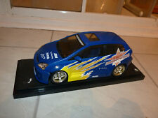 Hot Wheels Honda Civic Turbonetics Modified Car in Blue - 1:18 scale
