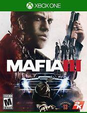 NEW Mafia III 3 (Microsoft Xbox One, 2016) Holographic Cover