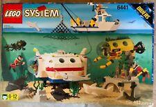 Lego Town Divers 6441 Deep Reef Refuge (433 pcs) New SEALED 1997 VGC