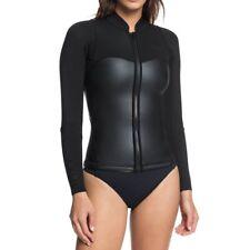 Roxy 1.0 Satin FZ LS JKT Damen Neoprenanzug schwarz