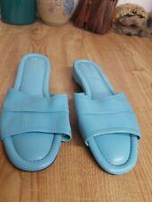 Daniel Green Women's Dormie Blue Slide Slipper Size 8 Medium Preowned