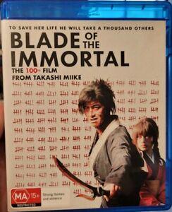 Blade Of The Immortal rare Blu-ray