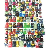 Lot Ooshies DC Comics Marvel TMNT Spider-man DAREDEVI Pencil topper Figures Gift