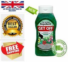 Get Off Garden Lawn Flower beds Grass Cat Dog Repellent Crystal Jelly 460g Odour