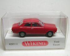 Ford ESCORT 1964-67 Red Wiking 020301 Gauge H0 1 87 Model Car