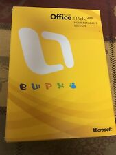 Microsoft Office 2008 Home and Student Edition for Mac w/ 3 Product Keys