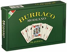 Carte da Gioco Burraco Modiano 100 plastica