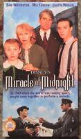 """Miracle At Midnight"" VHS (15307) Wonderful World Of Disney"