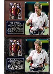 Joe Bugel Boss Hog Washington Redskins Photo Plaque