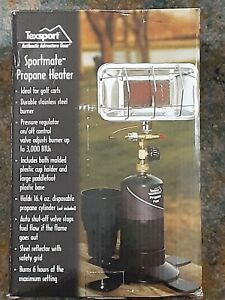 Texsport  propane heater new in box great for golf carts.patio camping etc.