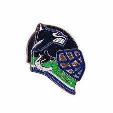 Vancouver Canucks Team Goalie Mask Hockey Pin - NHL Licensed