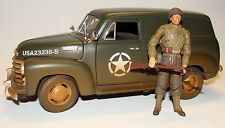 1:18 Solido WWII U.S Army Chevrolet Panel Truck  fits BBI 21st Century Figures