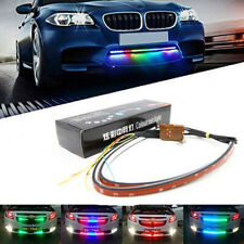 2in1 Universal RGB Knight Rider Scanner Flash Grille Light Car Strobe Strip Auto
