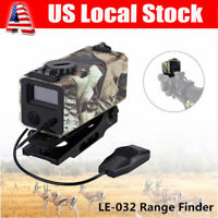 Mini Laser Hunting Range Finder Tactical Rifle Scope Distance Speed Meter 700M