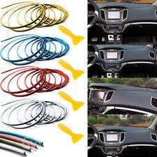 Colors 5M Edge Gap Interior Line Moulding Trim Molding Strip Decor For Car/Truck