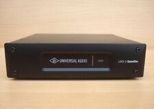 More details for universal audio satellite octo thunderbolt + 48 plugins. uad-2,neve,ssl,api,ams