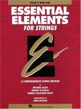 Essential Elements for Strings: Violin Book One by Michael Allen, Robert Gillesp