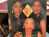 """SWV I'm So Into You TEDDY RILEY REMIXES 12"""" 1993 RCA 62501"""