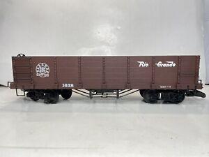 BACHMANN BIG HAULERS G SCALE Model Trains D&RGW Rio Grande Gondola No 1638