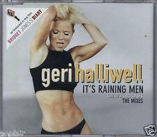 GERI HALLIWELL - IT'S RAINING MEN REMIXES 2001 EU CD2 EMI - CDEM 584 SPICE GIRLS