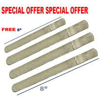"""3 GERMANY FOOT FILE NAIL REMOVER DOUBLE SIDED DIAMOND DEB CHIROPODY PODIATRY 8"""""""