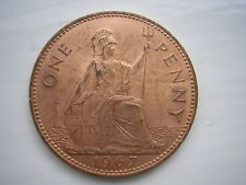1967 Penny. Last Sterling. Excellent Condition.