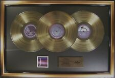 Paul McCartney & Wings Over America 3 LP Gold Non RIAA Record Award